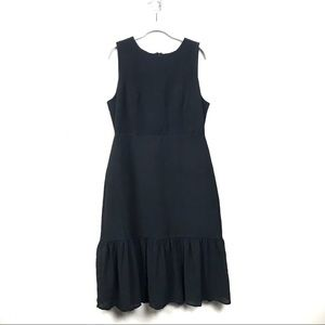 Lulus black sleeveless midi dress xl sleeveless